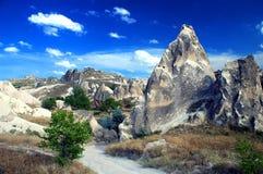 Rocce di Cappadocia Fotografie Stock Libere da Diritti