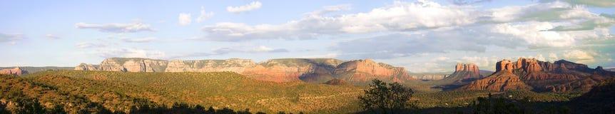 Rocce di colore rosso dell'Arizona Fotografie Stock Libere da Diritti
