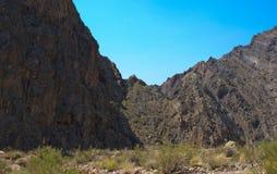 Rocce di Death Valley Fotografia Stock