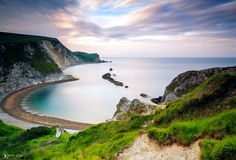 Rocce di Dorset fotografia stock libera da diritti