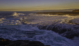 Rocce di Kembla del porto Fotografie Stock Libere da Diritti
