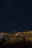 Rocce di notte Immagine Stock