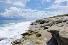 rocce di salto della conserva Immagini Stock