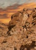Rocce di Sinai Fotografia Stock Libera da Diritti