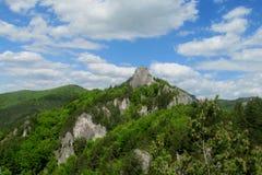 Rocce di Sulov Fotografia Stock