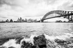 Rocce di Sydney Fotografia Stock