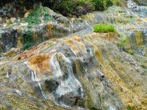 Rocce di vulcanizzazione fotografia stock