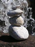 Rocce di zen Fotografia Stock