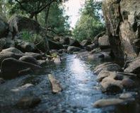 Rocce e fiume Fotografie Stock