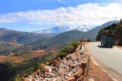 Rocce e minerali nel Marocco Fotografia Stock Libera da Diritti