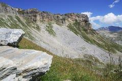 Rocce e montagne Immagine Stock