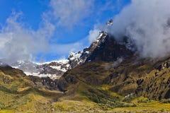 Rocce e neve in vulcano dell'altare di EL Immagine Stock Libera da Diritti
