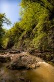 Rocce e pietre in acqua Immagini Stock Libere da Diritti