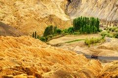 Rocce e pietre, montagne, paesaggio Leh, Jammu Kashmir, India del ladakh Fotografia Stock