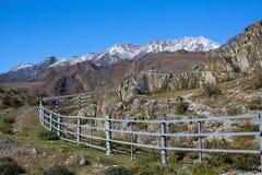 Rocce e pietre nelle montagne di Altai Fotografie Stock