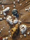 Rocce e sabbia Immagini Stock Libere da Diritti