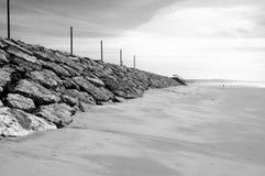 Rocce e spiaggia nel Portogallo Fotografie Stock Libere da Diritti