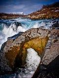 Rocce ed acqua Immagini Stock
