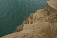 Rocce ed acqua Immagine Stock