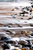 Rocce ed acqua astratte Fotografie Stock