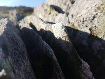 Rocce ed il Sun Immagini Stock