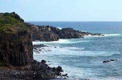 Rocce ed oceano Fotografia Stock