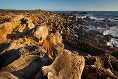 Rocce ed oceano Fotografie Stock