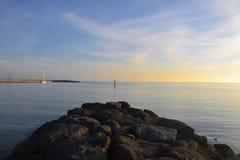 Rocce a Hampton Fotografia Stock Libera da Diritti