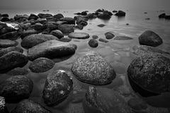 Rocce in lago Immagine Stock Libera da Diritti
