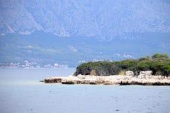 Rocce in mare Fotografia Stock