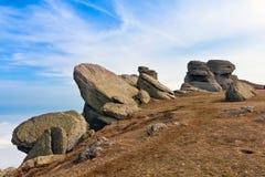 Rocce in montagne Fotografie Stock Libere da Diritti