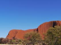 Rocce nel centro rosso australiano Fotografia Stock