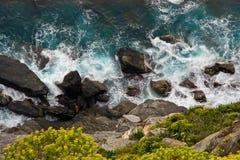 Rocce nel mare Fotografia Stock Libera da Diritti