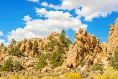 Rocce nel Nevada, U.S.A. Fotografia Stock