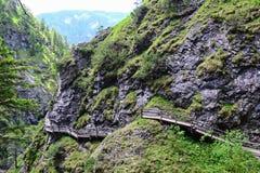 Rocce nella montagna dell'alpe Immagini Stock Libere da Diritti