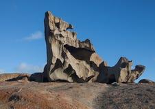 Rocce notevoli, nella parte del sud del parco nazionale di inseguimento del Flinders fotografia stock libera da diritti