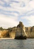 Rocce in Oceano Atlantico Fotografia Stock Libera da Diritti