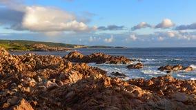 Rocce sceniche del canale in Australia occidentale fotografie stock