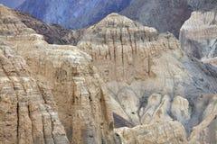 Rocce sedimentarie Ladakh, Jammu & nel Kashmir, India Immagine Stock Libera da Diritti