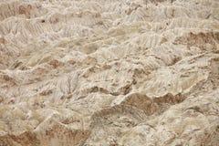 Rocce sedimentarie Ladakh, Jammu & nel Kashmir, India Fotografia Stock Libera da Diritti