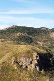 Rocce sedimentarie, stratigrafia Fotografia Stock