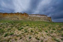 Rocce sole della steppa infinita fotografia stock libera da diritti