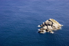 Rocce sul mare Fotografie Stock