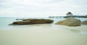 Rocce sulla spiaggia Immagine Stock Libera da Diritti