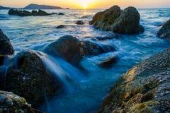 Rocce in Tailandia Fotografia Stock
