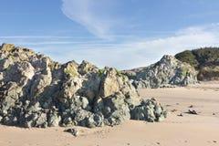 Rocce vulcaniche Fotografie Stock