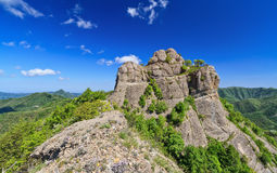 Rocche del Reopasso mount Royalty Free Stock Photos