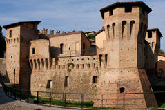 The rocchetta of Castellarano Royalty Free Stock Photos