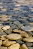 Roccia in acqua Immagini Stock Libere da Diritti