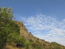 Roccia in Andalusia Immagini Stock